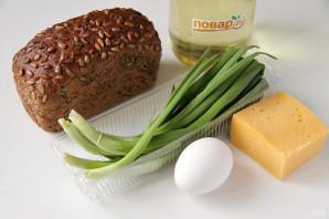 Бутерброды с луком и сыром - фото шаг 1