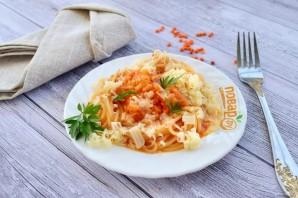 Паста с чечевицей и морковью - фото шаг 6