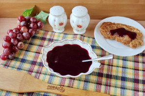 Виноградный соус к мясу