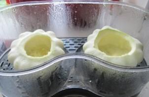 Патиссоны, фаршированные овощами - фото шаг 2