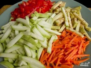 Рагу овощное с болгарским перцем - фото шаг 1