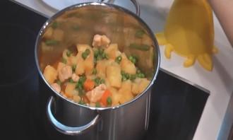 Рагу с овощами и курицей - фото шаг 5