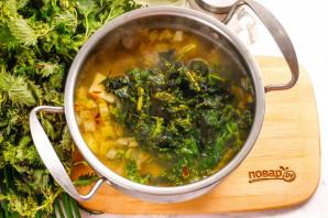 Молочный суп с крапивой - фото шаг 6