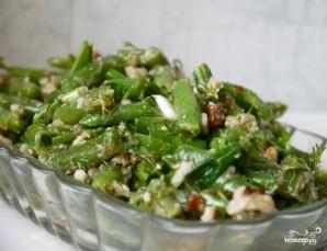 Салат из фасоли стручковой - фото шаг 7