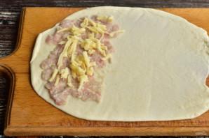 Чебуреки с мясом и сыром - фото шаг 8