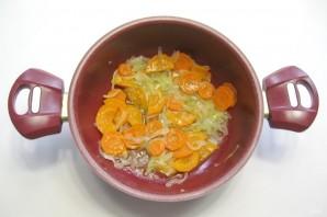 Баклажаны с кабачками в томатном соусе - фото шаг 2