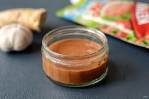 Запеченная тыква с соусом из кетчупа - фото шаг 5