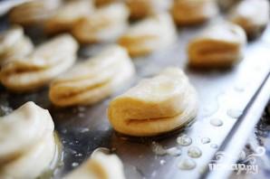 Домашние дрожжевые булочки - фото шаг 6