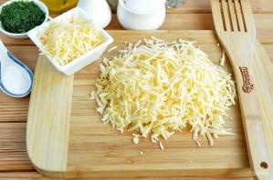 Сырные лепешки с разными начинками - фото шаг 3