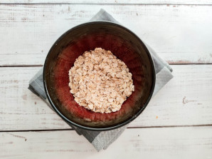 Запаренная овсянка на завтрак для похудения - фото шаг 2