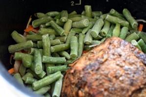 Свинина, запеченная в мультиварке, с легким овощным гарниром - фото шаг 4