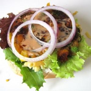 Вегетарианский бургер - фото шаг 10