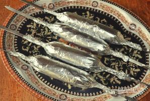 Люля-кебаб из курицы на мангале - фото шаг 8