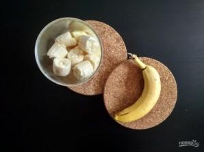 Смузи из банана, апельсина и яблока - фото шаг 3