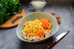 Салат из курицы и кукурузы - фото шаг 5