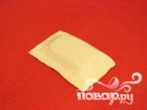 Слоеные пирожки с ветчиной и сыром - фото шаг 5