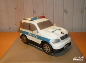 """Торт """"Полицейская машина"""" - фото шаг 10"""
