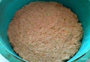 Фруктовый кекс из цельнозерновой муки - фото шаг 6