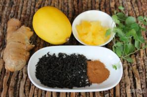 Чай с имбирем и корицей для похудения - фото шаг 1