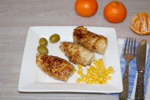 Куриные рулетики с мандарином - фото шаг 12