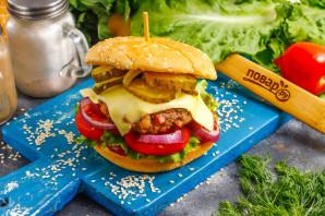 Бургер от Гордона Рамзи