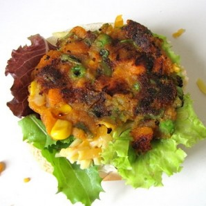 Вегетарианский бургер - фото шаг 8