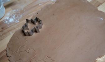 """Печенье """"Листья"""" - фото шаг 5"""