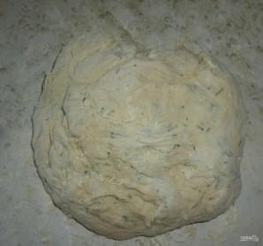 Лепешки из дрожжевого теста на сковороде - фото шаг 8