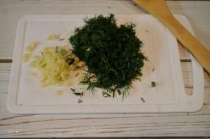 Баклажаны с чесноком на зиму - фото шаг 4