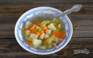 Легкий куриный суп с овощами - фото шаг 4