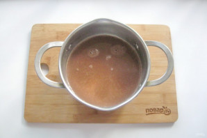 Шоколадный мусс из манки - фото шаг 3