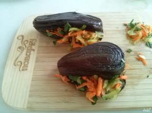Квашеные баклажаны с морковкой - фото шаг 5