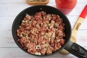 Ригатони с острым мясным соусом - фото шаг 4