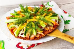 Курица с овощами на гречневой галете - фото шаг 10