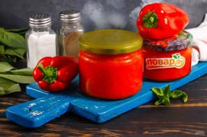 Паста из болгарского перца на зиму - фото шаг 7
