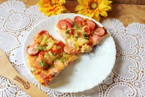 Тесто для пиццы на кефире - фото шаг 11
