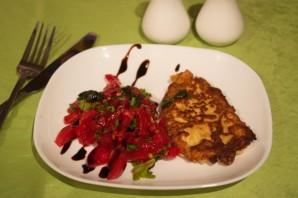 Куриное филе с помидорами - фото шаг 5