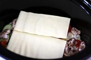 Лазанья из кабачков в мультиварке - фото шаг 3
