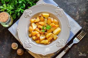 Картошка в банке в духовке - фото шаг 6