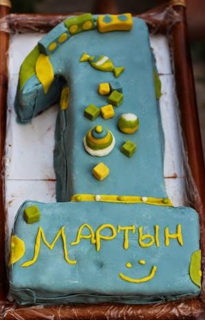 Торт на 1 год - фото шаг 12