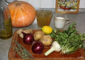 Суп из запеченной тыквы - фото шаг 1
