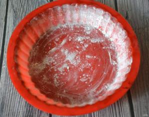 Заливной пирог с творогом - фото шаг 9