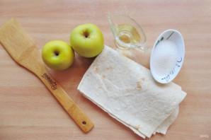 Ленивые пирожки с яблоками - фото шаг 1