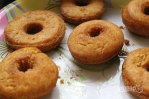 Простой рецепт пончиков без дрожжей - фото шаг 10
