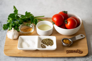 Маринованные помидоры по-итальянски за 30 минут - фото шаг 1