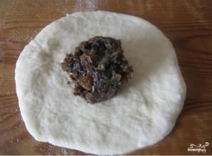 Постные пирожки с сухофруктами - фото шаг 3
