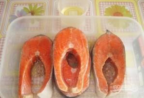 Форель под соусом в духовке - фото шаг 2