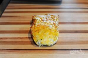 Чесночные гренки с сыром - фото шаг 7