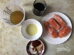 Соево-медовый лосось - фото шаг 1