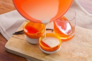 Апельсиновый десерт с желатином - фото шаг 5